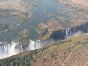 Die Victoria Wasserfälle - Quelle: Wikipedia